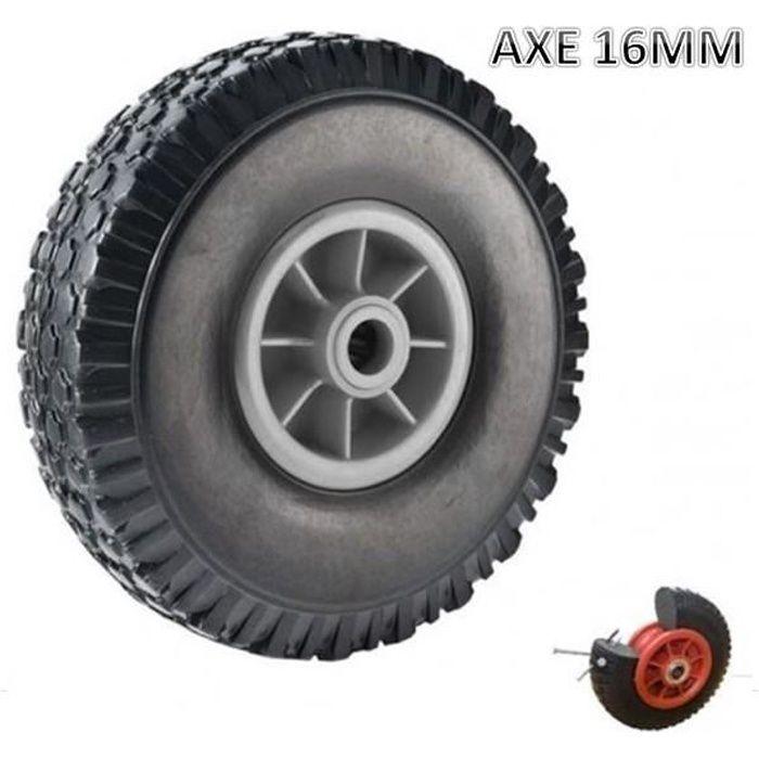 roue increvable 260mm pour diable chariot al 233 16mm achat vente diable cdiscount