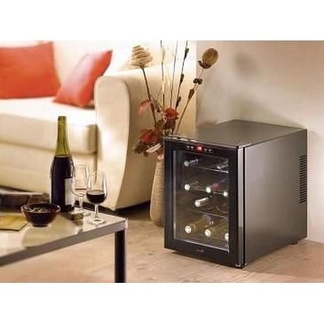 cave a vin 12 bouteilles r glable sur lcd achat vente. Black Bedroom Furniture Sets. Home Design Ideas