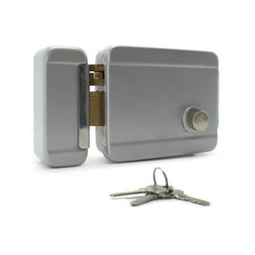 Serrure lectrique r versible cylindre achat vente for Ouverture de porte electrique