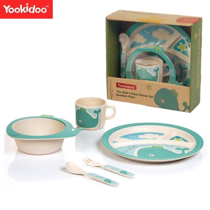 Vaisselle bambou bébé