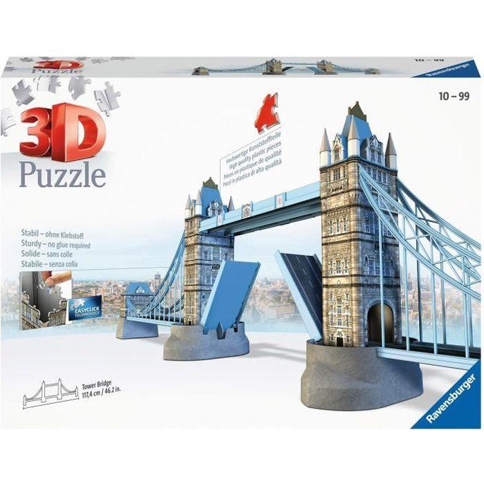 ravensburger puzzle 3d tower bridge londres 216p achat. Black Bedroom Furniture Sets. Home Design Ideas