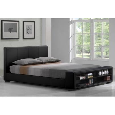 lit avalon avec tag res 160x200cm simili no achat vente lit complet lit avalon avec. Black Bedroom Furniture Sets. Home Design Ideas