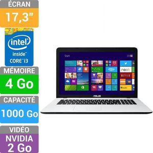 Asus PC Portable X75VC-TY255H