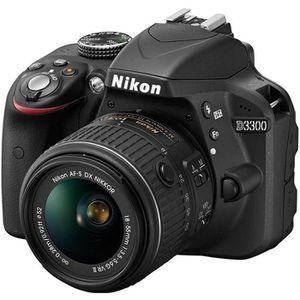 NIKON D3300 KIT + 18-55VRII Noir