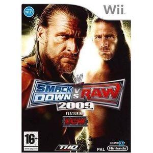 JEUX WII WWE SMACKDOWN VS RAW 2009 / Jeu console Wii