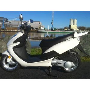 SCOOTER SCOOTER 125CC YIYING YY125T-10 BLANC