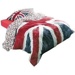housse de couette anglais achat vente housse de couette anglais pas cher cdiscount. Black Bedroom Furniture Sets. Home Design Ideas