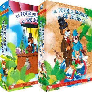 DVD DESSIN ANIMÉ Le Tour du Monde en 80 jours - Intégrale - 2 Coffr