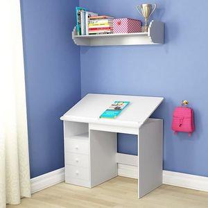 bureau enfant inclinable achat vente bureau enfant inclinable pas cher cdiscount. Black Bedroom Furniture Sets. Home Design Ideas