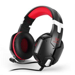 CASQUE - MICRO CONSOLE G1200 3.5mm Jeu Gaming casque casque écouteurs Ban