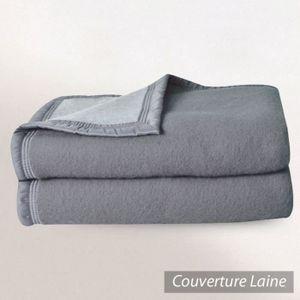couverture laine vierge achat vente couverture laine vierge pas cher cdiscount. Black Bedroom Furniture Sets. Home Design Ideas