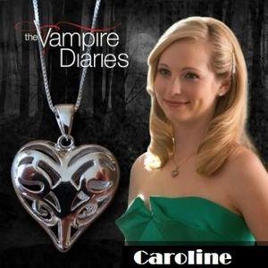 SAUTOIR ET COLLIER Collier série Vampires Diaries Caroline Forbes