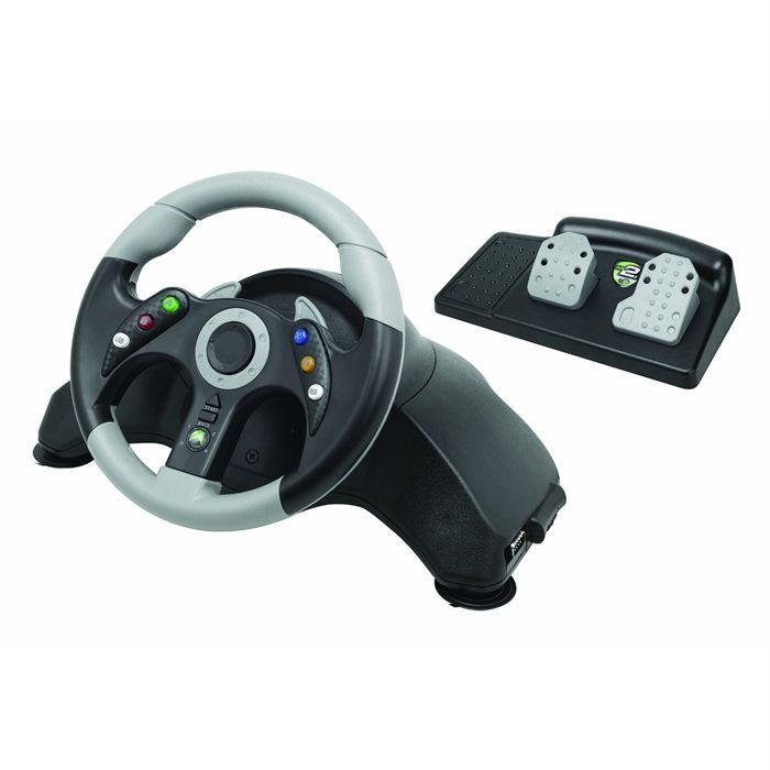 volant filaire noir accessoire console x360 achat vente volant volant filaire noir. Black Bedroom Furniture Sets. Home Design Ideas