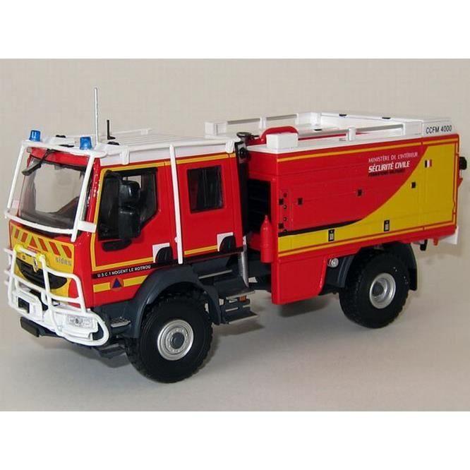 Renault midlum camion de pompiers ccfm 4000 sides s curit - Comment dessiner un camion de pompier ...