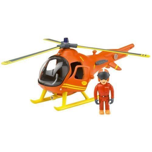 fireman sam sam le pompier grand h licoptere de. Black Bedroom Furniture Sets. Home Design Ideas