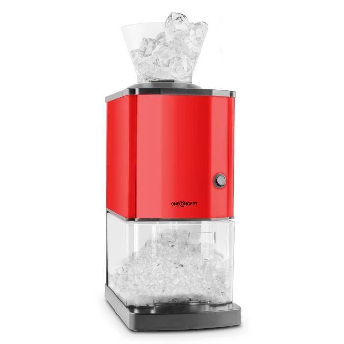 oneconcept icebreaker broyeur de glace 15 kg h 3 5 l r cipient rouge achat vente machine. Black Bedroom Furniture Sets. Home Design Ideas