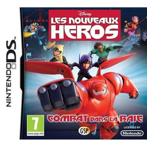 Les Nouveaux Héros : Combat Dans La Baie Jeu DS