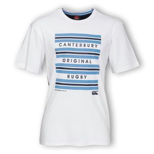 T-SHIRT CANTERBURY T-shirt Rugby Hoop Homme RGB