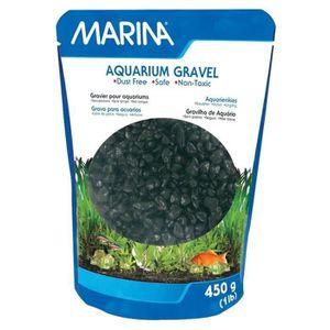 PERLE - BILLE - GRAVIER Lot de 2 - MARINA Gravier décoratif noir 450 g - P