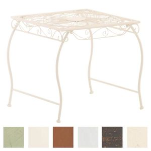 Table haute fer forge achat vente table haute fer - Salon de jardin en fer forge pas cher ...