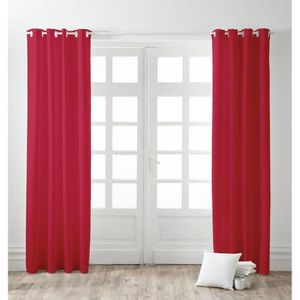 Rideaux et voilages achat vente rideaux et voilages pas cher cdiscount - Maison coloree rideaux ...