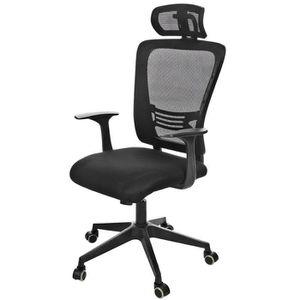 fauteuil de bureau avec repose tete achat vente fauteuil de bureau avec repose tete pas cher. Black Bedroom Furniture Sets. Home Design Ideas