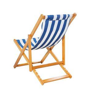Bain de soleil bois achat vente bain de soleil bois for Chaise longue chilienne bois
