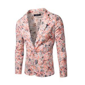 la mode costume de fleurs pour hommes rose achat vente costume tailleur cdiscount. Black Bedroom Furniture Sets. Home Design Ideas