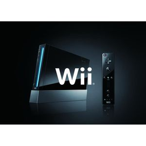 CONSOLE WII Console WII Noire !