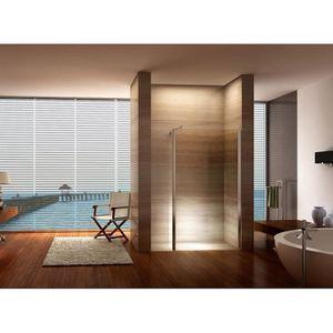 paroi de douche 140 cm achat vente paroi de douche 140 cm pas cher soldes cdiscount. Black Bedroom Furniture Sets. Home Design Ideas
