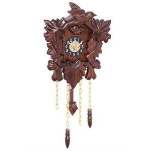 HORLOGE Horloge Pendule Coucou en bois