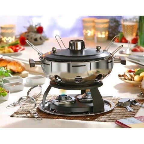 Nouvel marmite mongole inox pour fondue chinoise achat - Appareil a fondue chinoise electrique ...