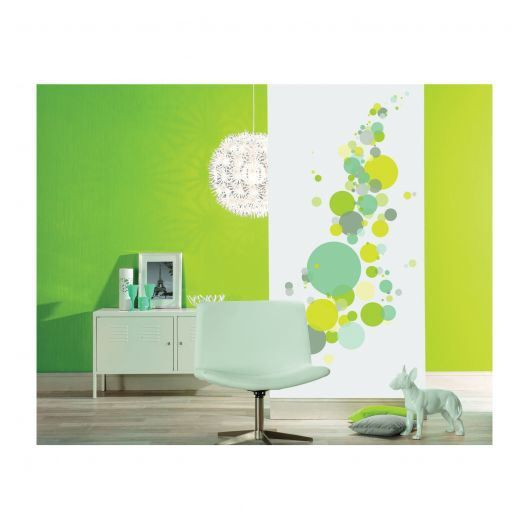 Stickers muraux bulles multicolores vert achat vente stickers cdiscount - Deco maison discount ...