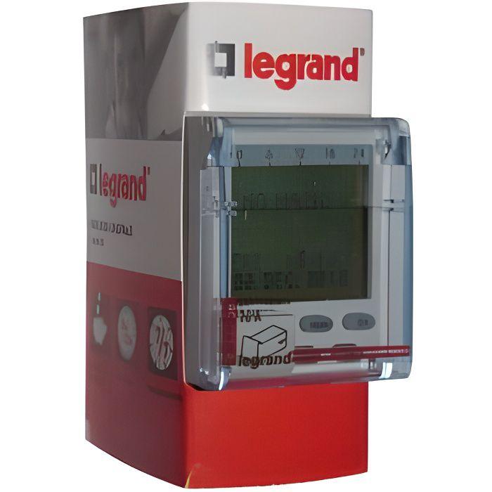 Horloge digital 1 circuit 2 modules achat vente composant tableau cdiscount - Horloge tableau electrique ...