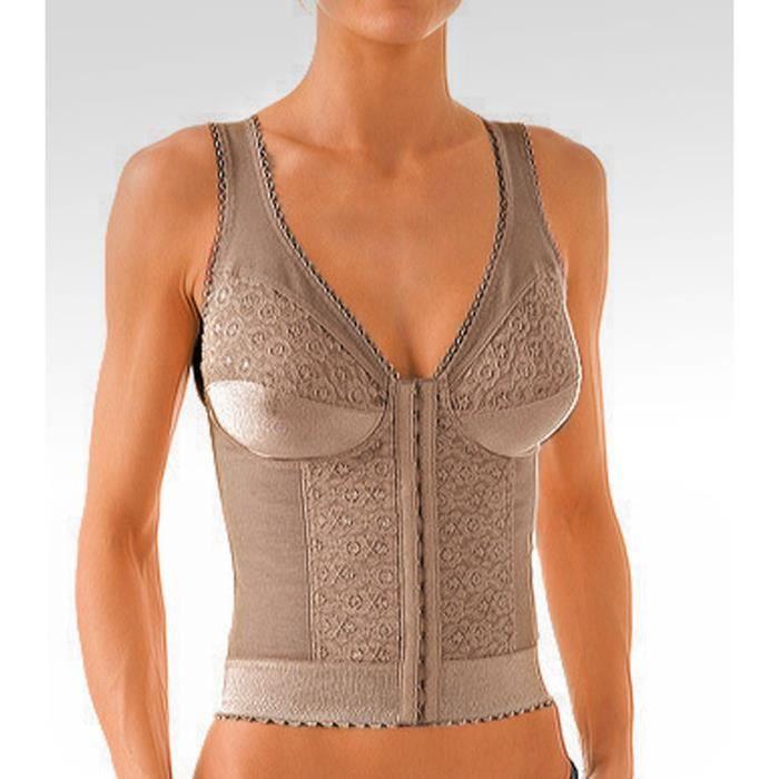 soutien gorge corset lastique f achat vente soutien gorge soldes cdiscount. Black Bedroom Furniture Sets. Home Design Ideas
