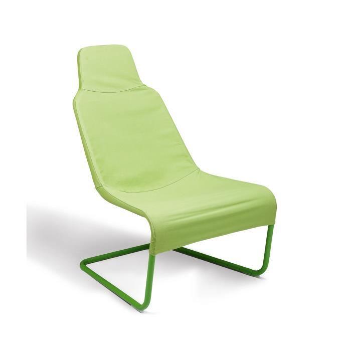 fauteuil vert d 39 eau en m tal 67 x 83 x 98 cm achat. Black Bedroom Furniture Sets. Home Design Ideas