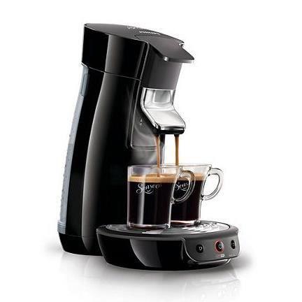 MACHINE À CAFÉ PHILIPS - Senseo Viva Café HD7825/61 Noir intense