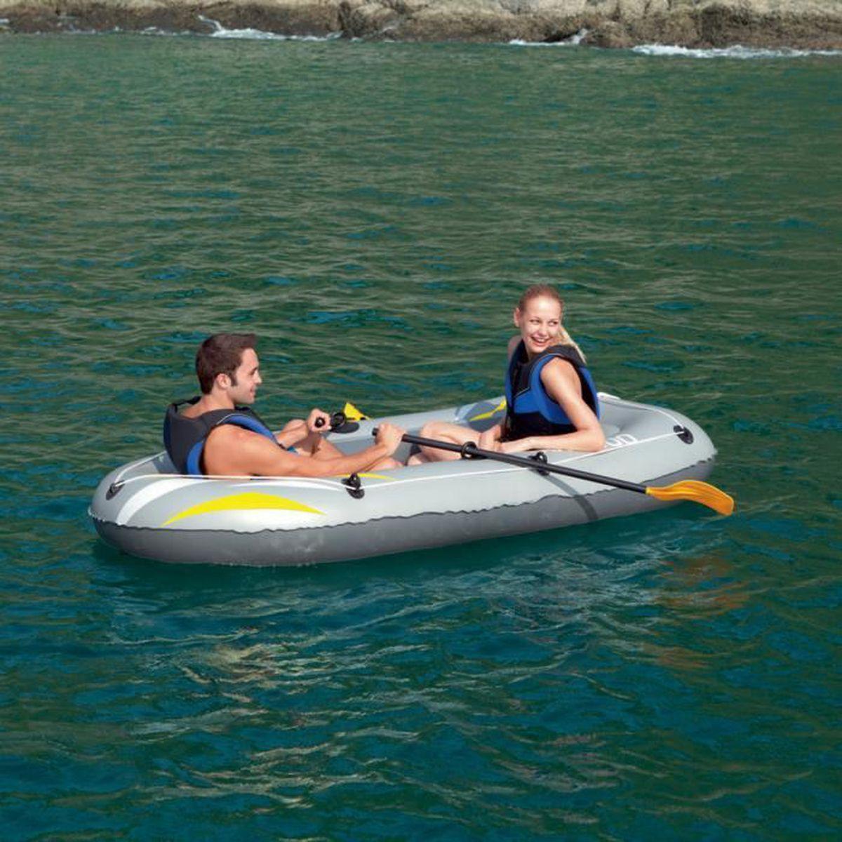 Bateau gonflable rx 4000 raft gris achat vente jeux de piscine cdiscount - Bateau gonflable mer ...