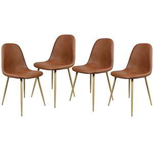 CHAISE Lot de 4 Chaises Design Chaises Scandinaves Chaise