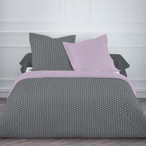 housse de couette poudre de lilas achat vente housse de couette poudre de lilas pas cher. Black Bedroom Furniture Sets. Home Design Ideas