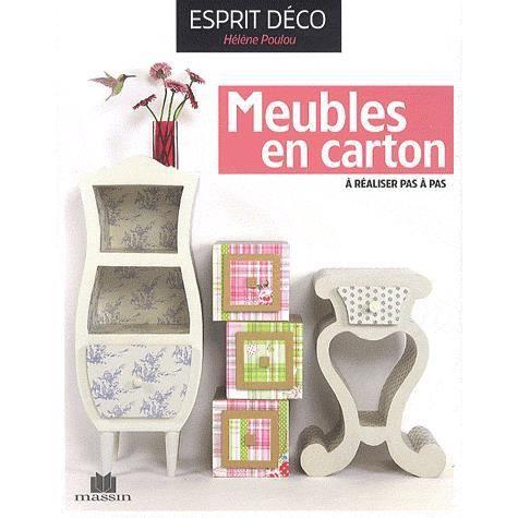 meubles en carton achat vente livre h l ne poulou charles massin parution 11 05 2012 pas. Black Bedroom Furniture Sets. Home Design Ideas