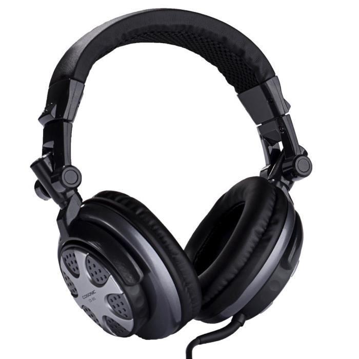 pliable cd 891 m tal st r o 3 5 mm plug hifi gaming headset antibruit avec microphone pour pc. Black Bedroom Furniture Sets. Home Design Ideas