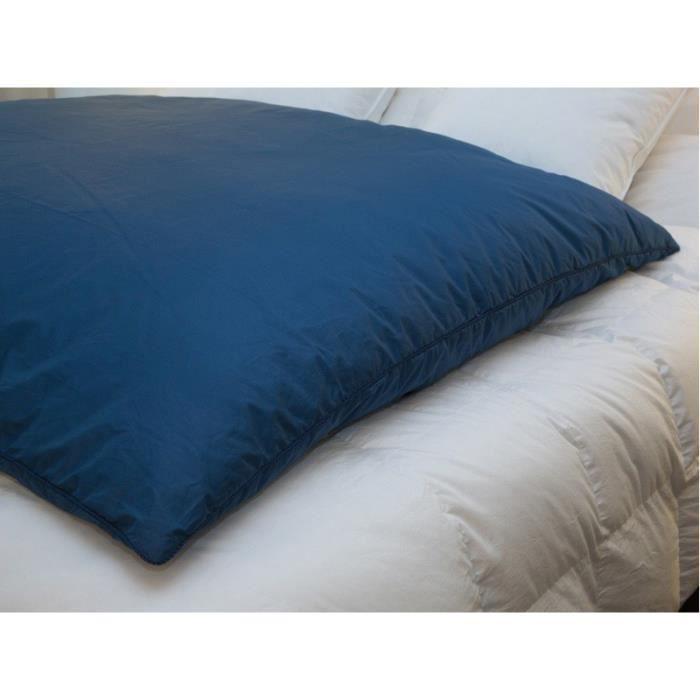 edredon gonflant bleu nuit satin dimension 9 achat vente couverture plaid cdiscount. Black Bedroom Furniture Sets. Home Design Ideas