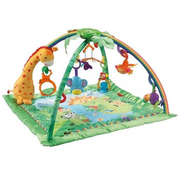 Fisher price tapis de la jungle multicolore achat vente portique b b 0027084414998 cdiscount - Jeux des as de la jungle ...