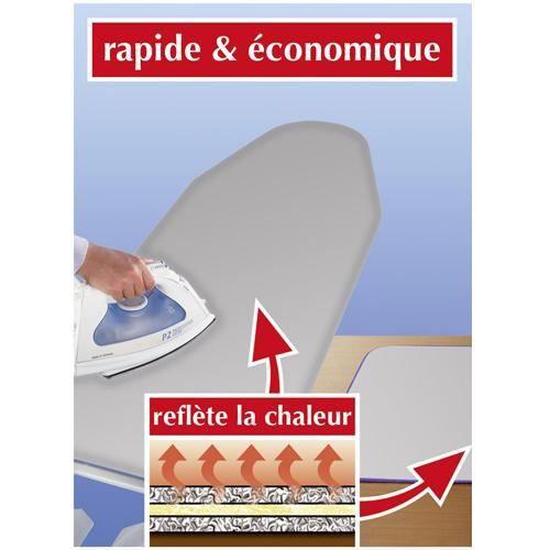 Housse de repassage thermique 128 x 54 cm achat vente for Housse repassage