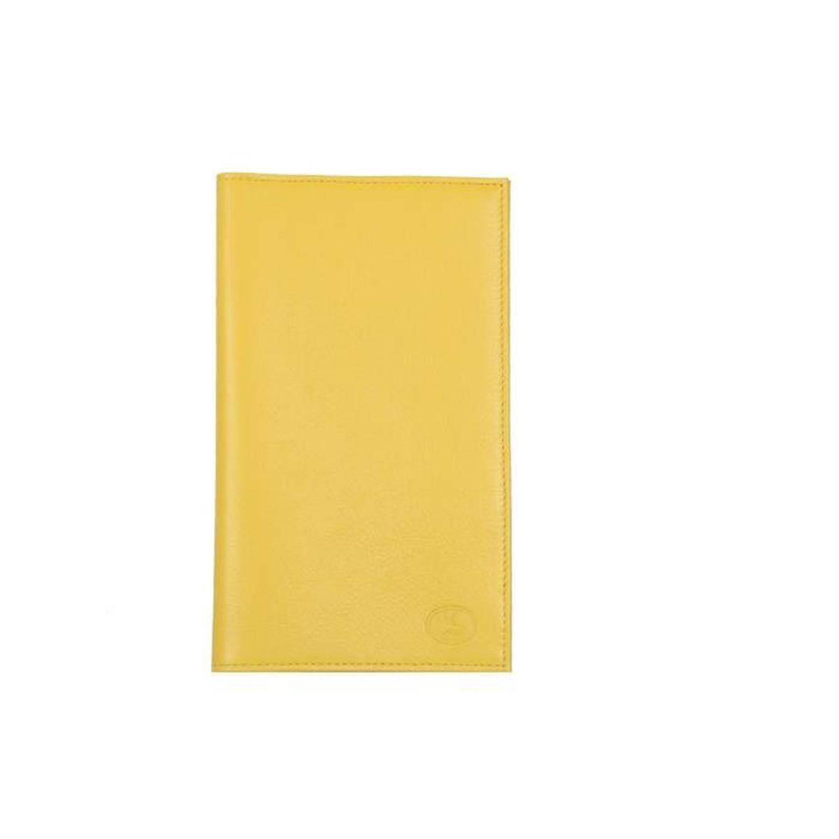 porte ch quier cuir jaune achat vente porte ch quier 3664050435563 cdiscount. Black Bedroom Furniture Sets. Home Design Ideas