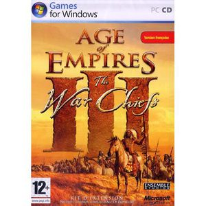 JEU PC AGE OF EMPIRES 3 THE WAR CHIEFS ADD-ON / PC DVD-RO
