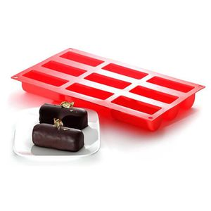 YOKO DESIGN Moule ? mini buches rouge
