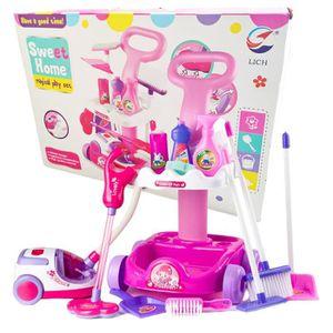 jouet chariot menage achat vente jeux et jouets pas chers. Black Bedroom Furniture Sets. Home Design Ideas
