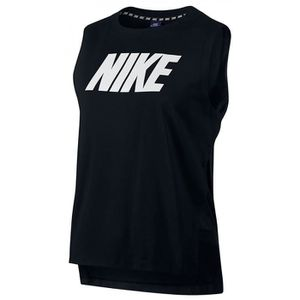 Débardeur Nike - Nike W Nsw Av15 Debardeur Femme Noir